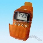 LCD Watch with Radio and 8-digit Calculator