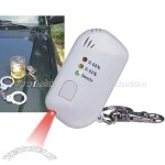 LED Alcohol Detector Keychain