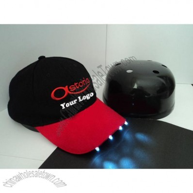 LED Baseball Bump Caps