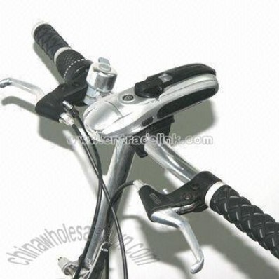 LED Bicycle Flashlight with Compass and Mobile Phone Charger