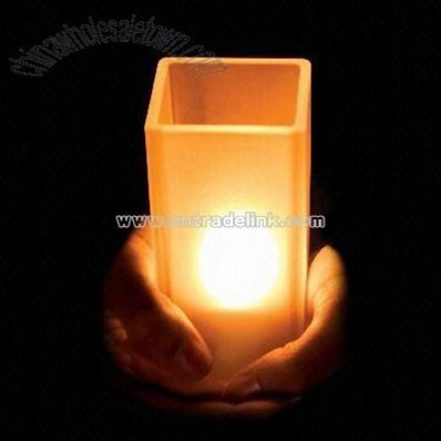 LED Candle with Fragrance Diffuser