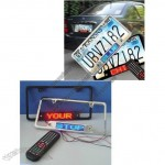 LED Car License Plate Frame