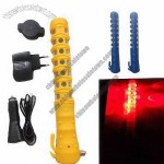 LED Car Rechargeable Warning Light with Safety Hammer and Belt Cutter/Tool Sets