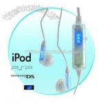 LED Earphones - Hifi Stereo Earphones / Music Responsive LED's