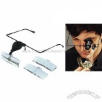 LED Eyeglass Magnifier