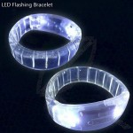 LED Fashing Logo Bracelet