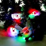 LED Flash Christmas Brooch