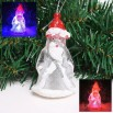 LED Flash Santa Claus