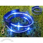 LED Flashing Pet Collar Leashes