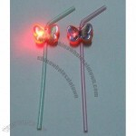 LED Flashing Straw