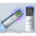 LED Flashlight With Calendar Clock