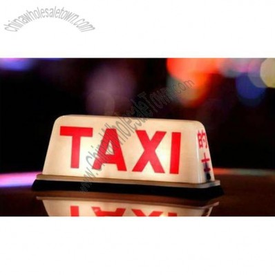 LED Illuminated Taxi Roof Signs