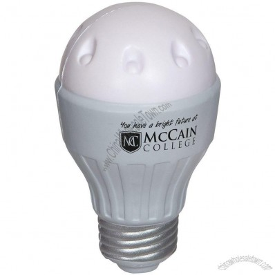 LED Light Bulb Stress Ball
