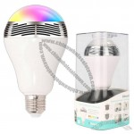 LED Light Bulb with Bluetooth Speaker