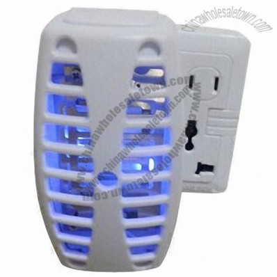 LED Light Mosquito Stop, Kill Pest by High Voltage, Safe/No Chemical, LED Light, CE/RoHS