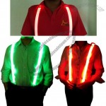 LED Light Up Suspender for Outdoor Safety
