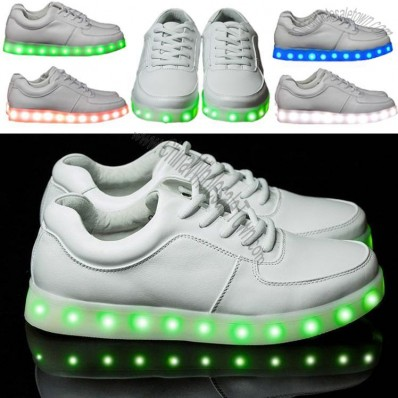 LED Lights Shoes - USB Charging