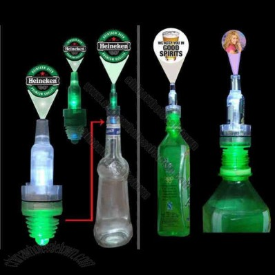 LED Logo Projector Bottle Stopper