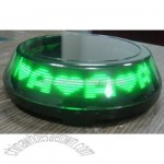 LED Message Coaster