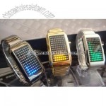LED Metal Watch