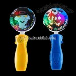 LED Musical Halloween Spinning Ball