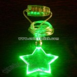 LED Necklace For Shape Pentagram