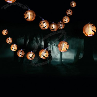 LED Pumpkin Lantern String