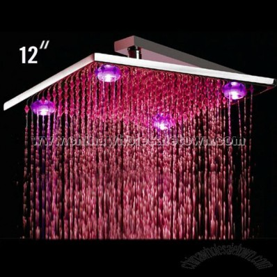 LED Rain Shower Light