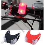 LED Silicone Bicycle Light