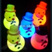 LED Snowman Lighting