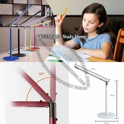 LED Table Study Lamp – 360 Degree Adjustable Neck Allows Easy Adjustment Of Light Direction