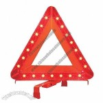 LED Warning Triangle with CE/E Approvals,