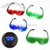 LED flashing eyeglasses