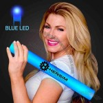 LED light up foam cheer stick