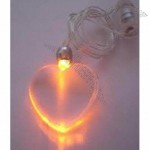 LED pendant Necklace