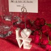 LOVE Design Place Card Holders