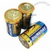 LR20 Alkaline Battery with Foil Jacket and Perfect Leakage Resistance