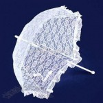 Lace Parasol with 35-inch Total Length