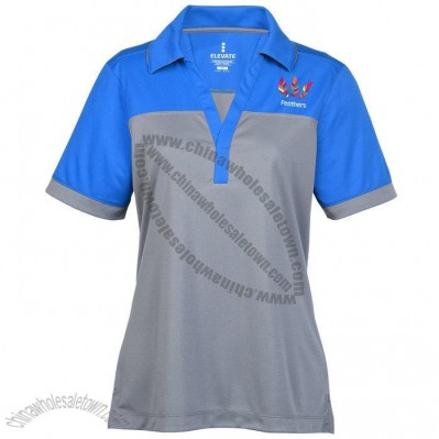 Ladies' Colorblock Polo Shirt