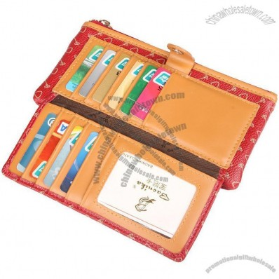 Ladies Fashion Multi-bit Card Wallet