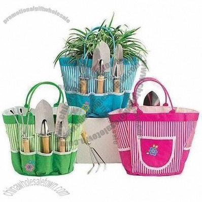 Ladies' Gardening Tote Bags with Nice Printing Fabric