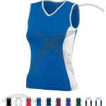 Ladies Performance Fitted Sleeveless Top