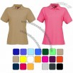 Ladies US Basic Boston Polo Shirts