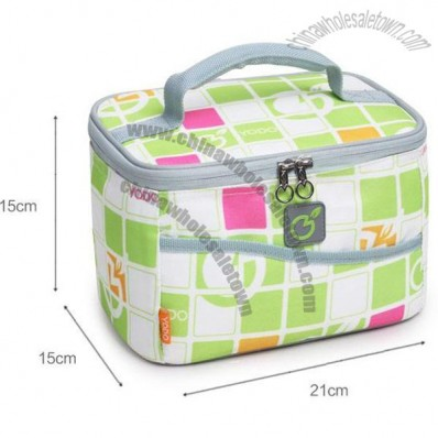Ladies fashion insulated cooler bags