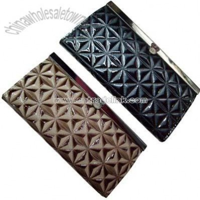 Ladies fashion wallets