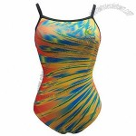Ladies' swimsuit, AOP print on body
