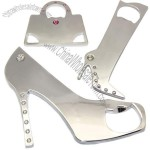 Lady Bag Heels Beer Bottle Opener