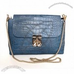 Lady Style New Design Great Leather Lady Navy Evening Bags
