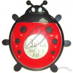 Ladybug Clock with 100 days Countdown Timer