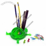 Ladybug Pen Holder with Clip Dispenser